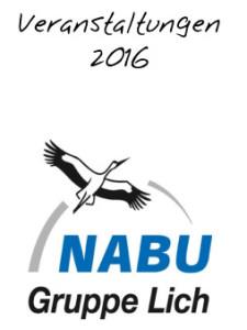 Veranstaltungen 2016